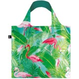 Loqi Reusable Shopping Bag - Wild Flamingos