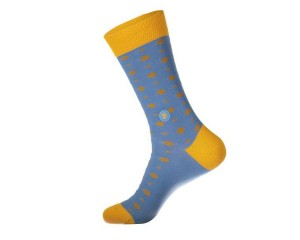 Conscious Step Socks that Give Books III (Light Blue) - Unisex