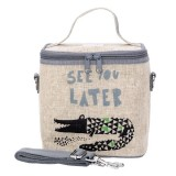 SoYoung Small Insulated Cooler Bag - Wee Gallery Alligator