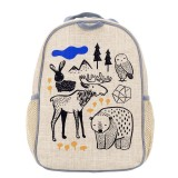 SoYoung Grade Uncoated Linen Backpack - Wee Gallery Nordic