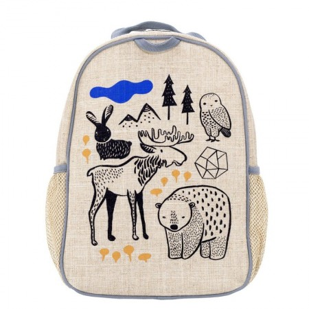 SoYoung Uncoated Linen Toddler Backpack - Wee Gallery Nordic