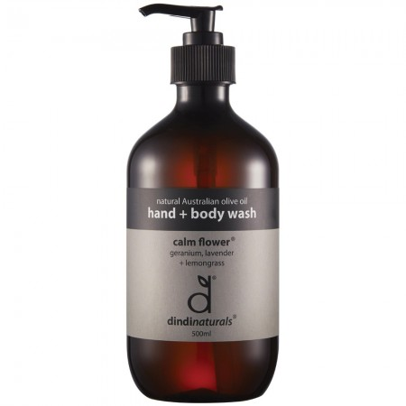 Dindi Naturals Palm Oil Free Hand & Body Wash - Calm Flower