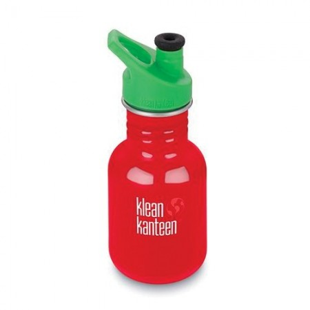 Klean Kanteen Stainless Steel Water Bottle Classic 12oz 355ml - Mineral Red (Klean Coat) LAST CHANCE!
