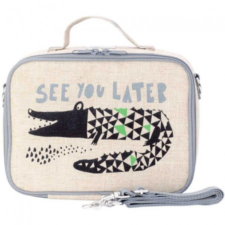 SoYoung Insulated Lunch Box - Wee Gallery Alligator