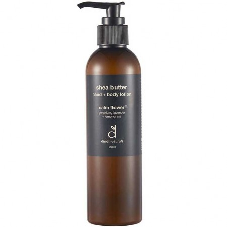 Dindi Naturals Shea Butter Hand & Body Lotion - Calm Flower