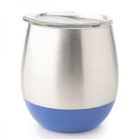 U Konserve Insulated Stainless Steel Wine Tumbler 8oz 236ml - Marine