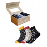 Conscious Step Ankle Sock Collection - Books, HIV, Hunger