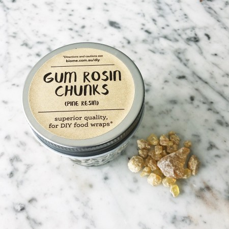 Gum Rosin Chunks in Glass Jar 50g