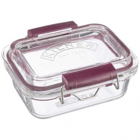 Kilner Fresh Storage Glass Container and Lid 350ml