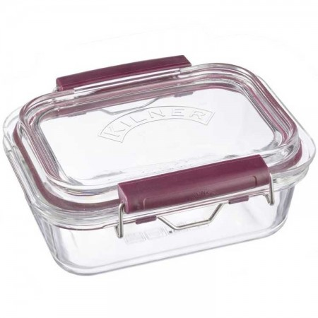 Kilner Fresh Storage Glass Container and Lid 600ml