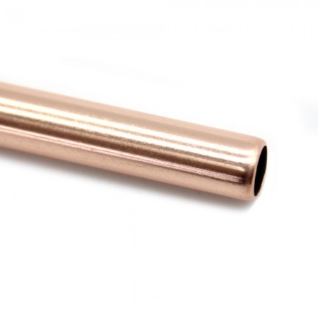 Straw Rose Gold Bent 9mm