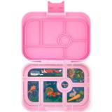 Yumbox Lunch Box - Original 6 Compartment Stardust Pink