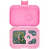 Yumbox Lunch Box - Panino 4 Compartment Stardust Pink