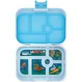 Yumbox Lunch Box - Original 6 Compartment Luna Blue