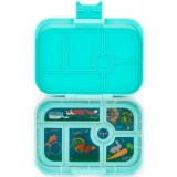 Yumbox Lunch Box - Original 6 Compartment Mystic Aqua
