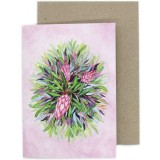 Ingrid Bartkowiak Art Greeting Card - Bloom
