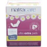Natracare Ultra Extra Pads 8pk - Long