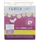 Natracare Ultra Extra Pads 10pk - Super
