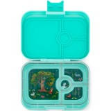 Yumbox Lunch Box - Panino 4 Compartment Mystic Aqua