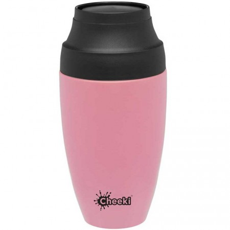 Cheeki Insulated Coffee Mug 350ml - Pink
