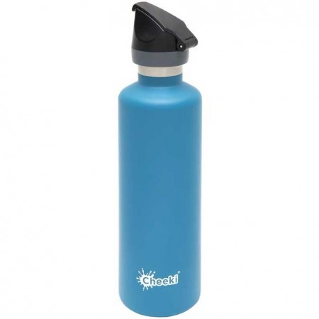 Cheeki 600ml Active Insulated Water Bottle - Topaz