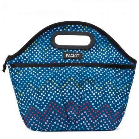 PackIt Freezable Traveller Lunch Bag - Dottie Chevron