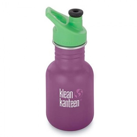 Klean Kanteen Stainless Steel Water Bottle Classic 12oz 355ml - Winter Plum (Klean Coat)