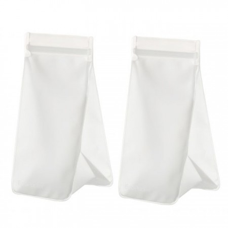 Ecopocket Tall 4 Cup (2 Pack) - Clear