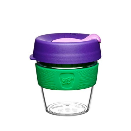 KeepCup Small Clear Plastic Coffee Cup 8oz (227ml) - Spring
