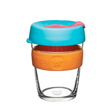 KeepCup Medium Glass Cup 12oz (340ml) - Cloudburst