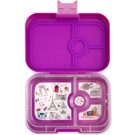 Yumbox Lunch Box - Panino 4 Compartment Bijoux Purple