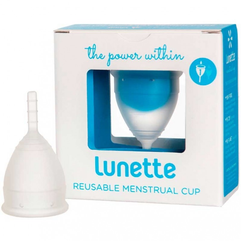 Lunette menstrual cup Clear - size 1