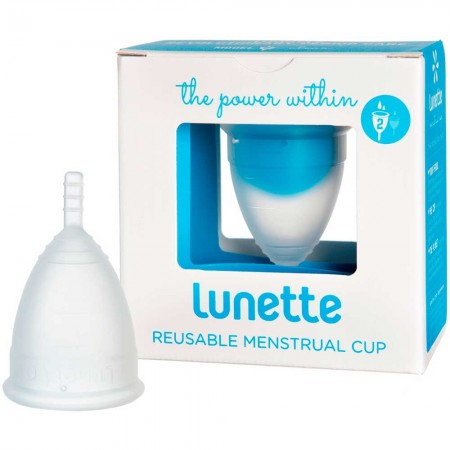 Lunette menstrual cup Clear - size 2