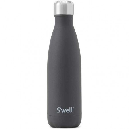 S'Well Insulated Stainless Steel Water Bottle 500ml - Onyx