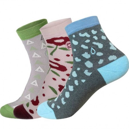 Conscious Step Women's Sock Collection - Fight For Her