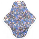 Hannahpad Small Cloth Pad 2pk - Cherry Blossom Blue
