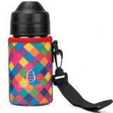 Ecococoon Bottle Cuddler Cover Small 350ml - Kaleidoscope
