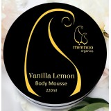 Meenoo Organics Body Mousse - Vanilla Lemon