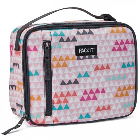 PackIt Freezable Classic Lunch Box - Paper Triangle