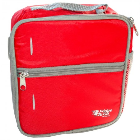 Fridge to Go Insulated Lunch Box Medium - Red