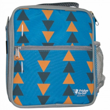 Fridge to Go Insulated Lunch Box Medium - Triangle