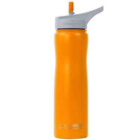 EcoVessel Summit Insulated Water Bottle 700ml - Mystic Mango