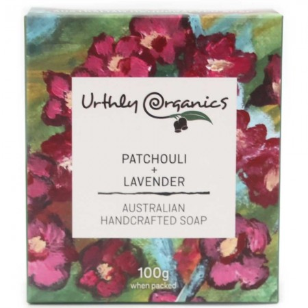 Urthly Organics Soap Bar - Patchouli & Lavender