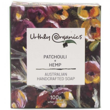 Urthly Organics Soap Bar - Patchouli & Hemp