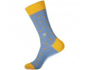Conscious Step Socks that Give Books III (Light Blue) - Women's
