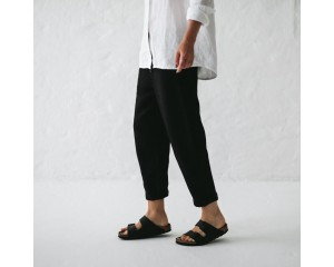 Seaside Tones 3/4 Pants Black Size XS-S