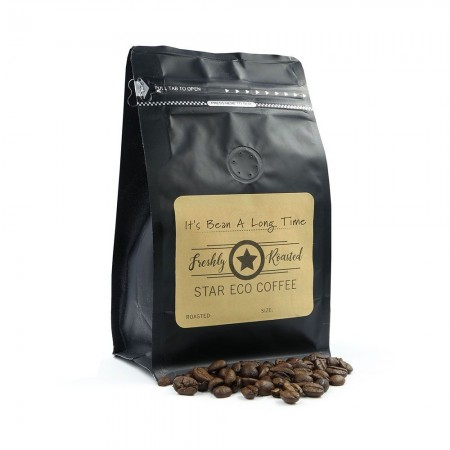 Podsta Organic Fairtrade Ground Coffee 250g - It's Bean A Long Time