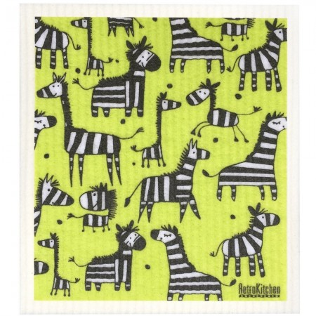 Swedish Dish Sponge Cloth - Zebra