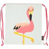 Coq en Pate Organic Cotton Activity Bag - Flamingo