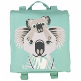 Coq en Pate Organic Cotton Backpack - Koala